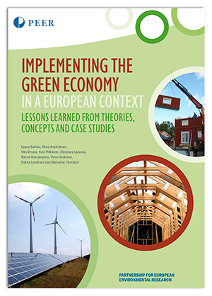 Cover PEER Report: Implementing the Green Economy
