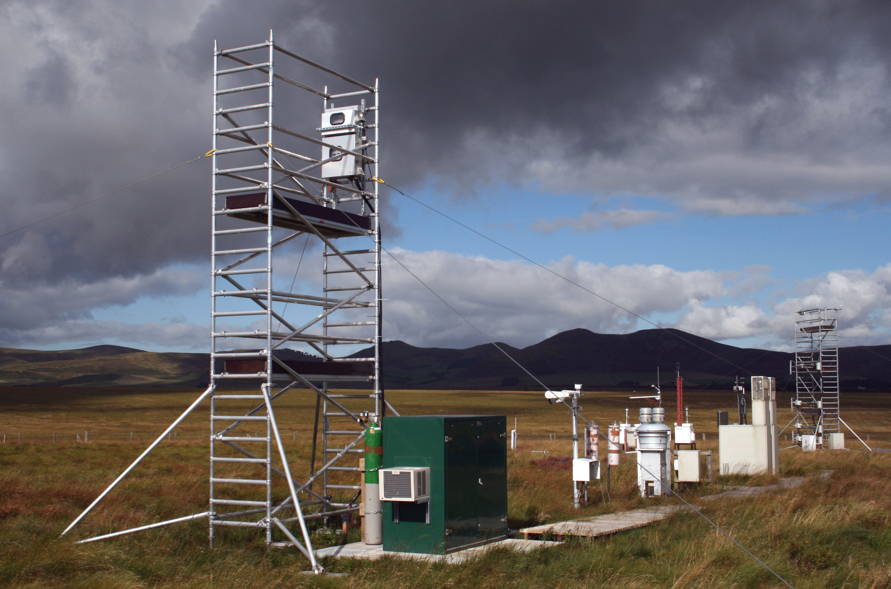 Auchencorth monitoring site, Scotland (Photo: Ian Leith, UKCEH)