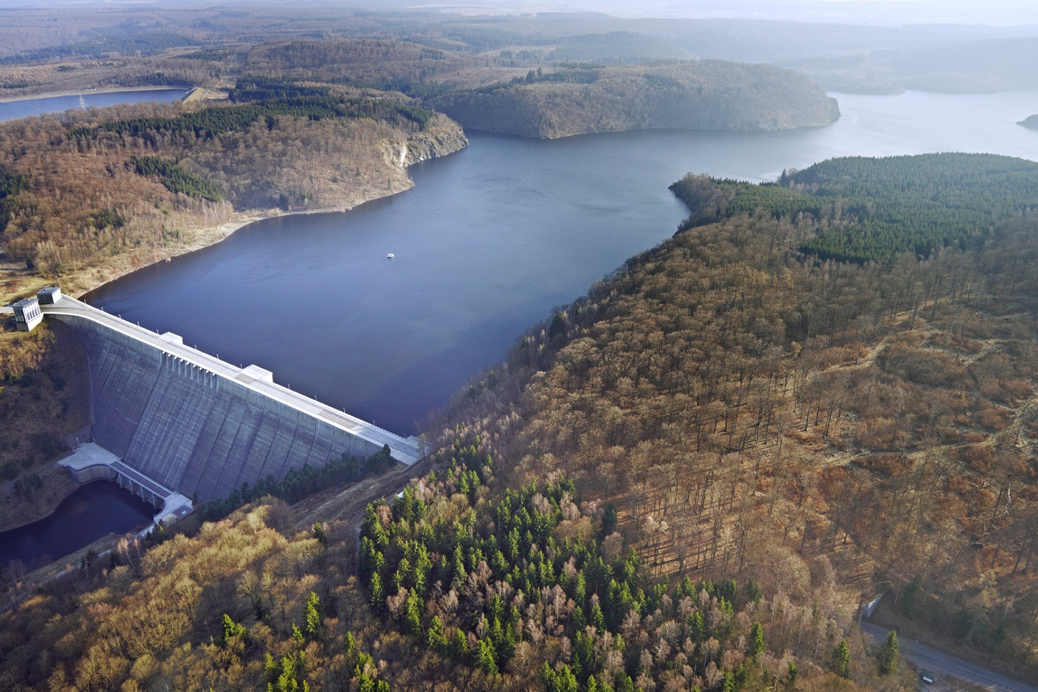 The Rappbode Reservoir in the Harz region in Germany. Photo: André Künzelmann / UFZ